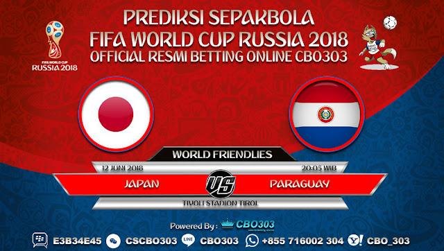 Prediksi Bola Japan VS Paraguay 12 Juni 2018