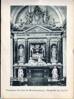 Photo de Moulins, Allier. tombeau du Duc de Montmorency, chapelle du Lycée