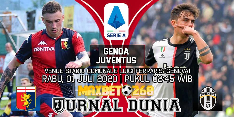 Prediksi Genoa vs Juventus 01 Juli 2020 Pukul 02:45 WIB