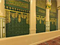 Inilah Makam Nabi Muhammad SAW Di Masjid Nabawi, Kota Madinah