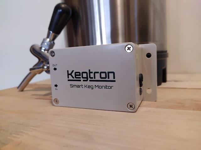 Kegtron: Monitor de barriles de cerveza inteligente