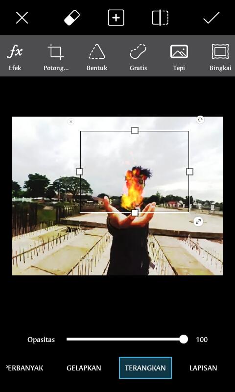 Picsart Tutorial | Cara Membuat Efek Api di Tangan ...