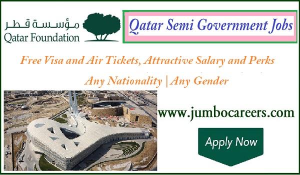 Recent Qatar office jobs, Current Qatar office receptionist jobs,