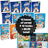 Cereal (and Books!) Stock Up Deal at Tops Friendly Markets starting 7/21