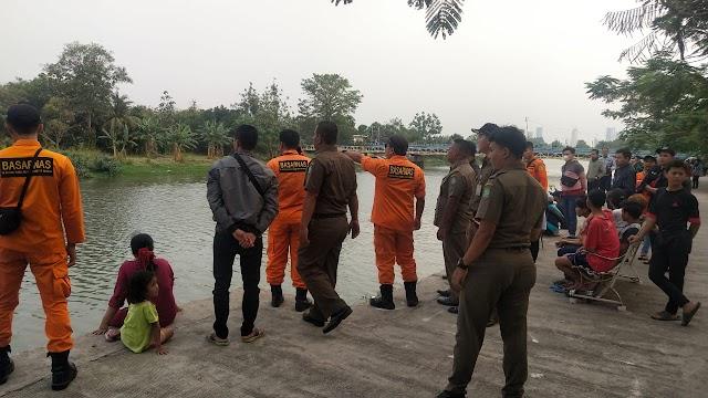 Bocah Terseret Aruss Sungai Cisadane Belum Ditemukan