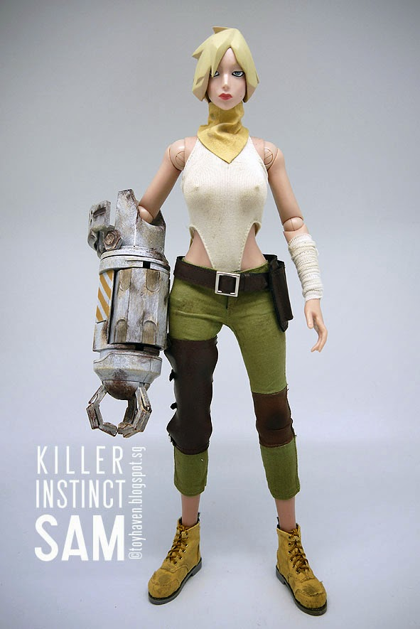 toyhaven: Review 1: OE (original effect) 1/6 scale killer ...