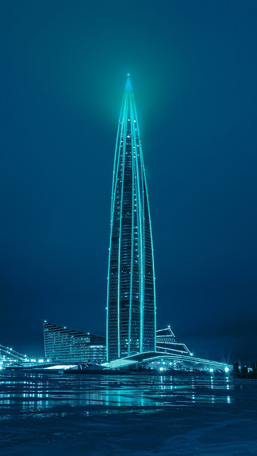 Tower, Building, Lighting, Architecture, Night