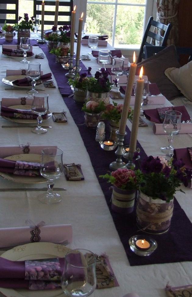bordpynting til konfirmasjon