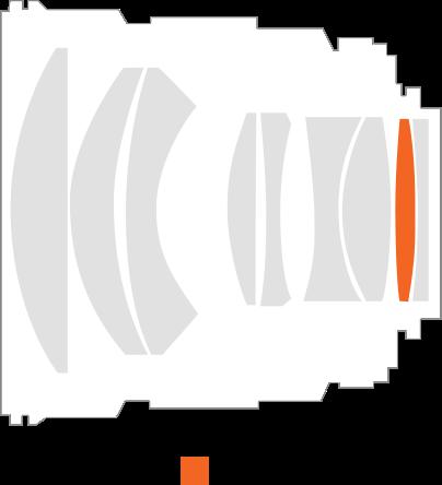 Оптическая схема Samyang MF 85mm f/1.4 RF