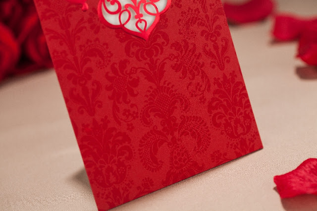 Red laser cut wedding card printing kuala lumpur, malaysia, elegant, special, unique, imported, chinese, pocket, pearl, insert, selangor, singapore, penang, melaka, ipoh, perak, bentong, pahang, kedah, kelantan, johor bahru, melaka