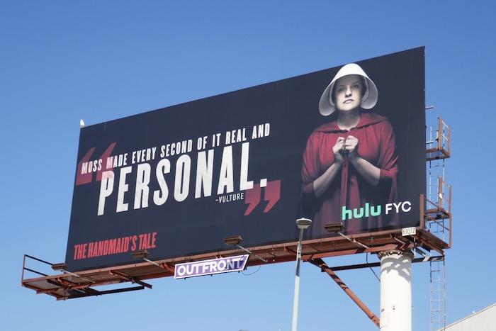 Handmaids Tale s3 Elisabeth Moss Personal FYC billboard