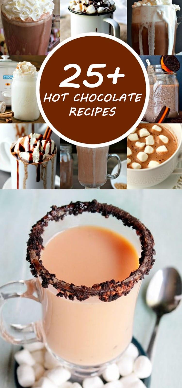 25+ Hot Chocolate Recipes