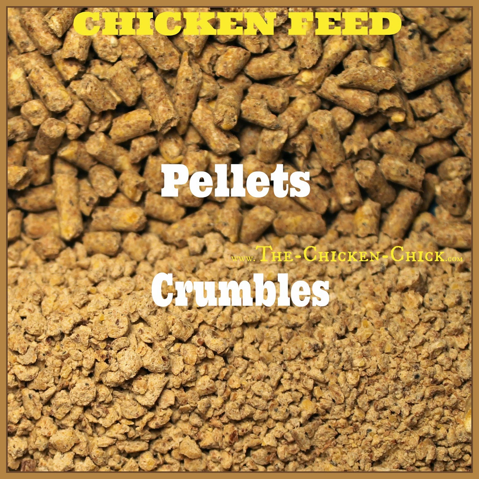 Provide feed in crumbles form instead of pellets to extend the amount of time birds spend pecking up feed to satisfy their appetites.