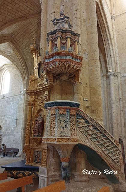 Púlpito San Hipólito el Real de Támara de Campos