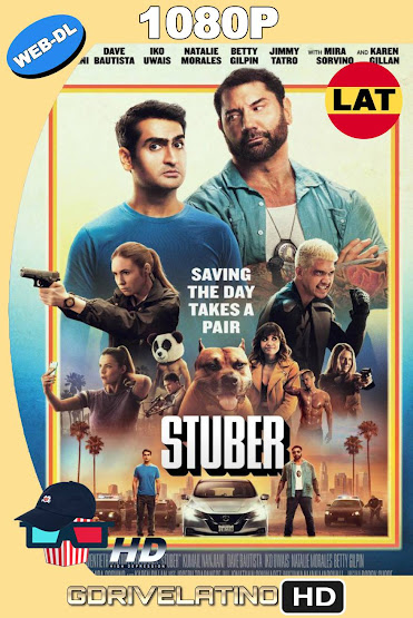 Stuber (2019) WEB-DL 1080p Latino-Ingles MKV