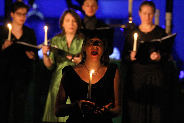Clare Norburn: Vision - The Telling & the Celestial Sirens at BREMF (Photo Robert Piwko)