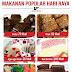 Kalori makanan popular hari raya