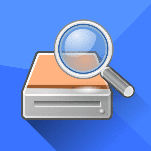 2- تطبيق DiskDigger