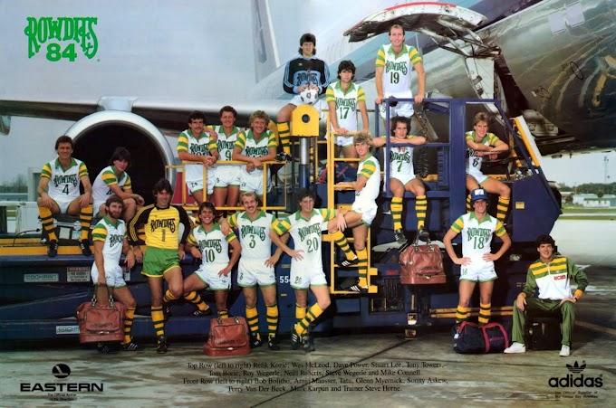 TAMPA BAY ROWDIES 1984.