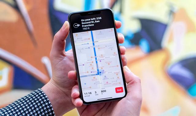 iOS 15 brings weather warnings in Apple Maps