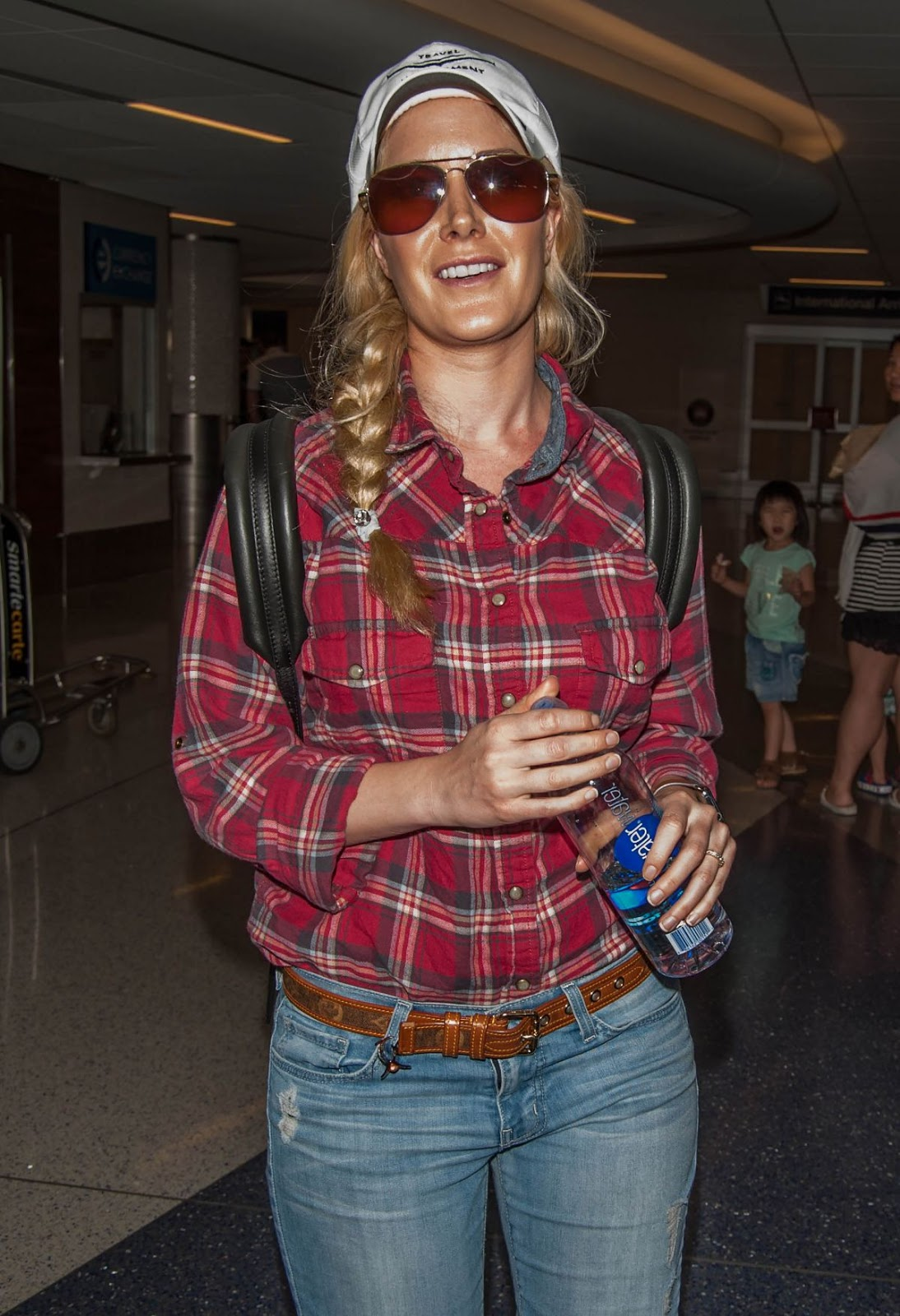 Heidi Montag At Los Angeles International Airport