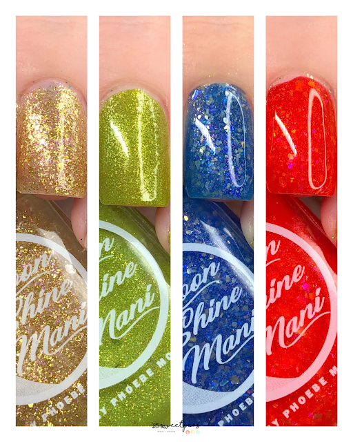Moon Shine Mani You're a Mean One Collection