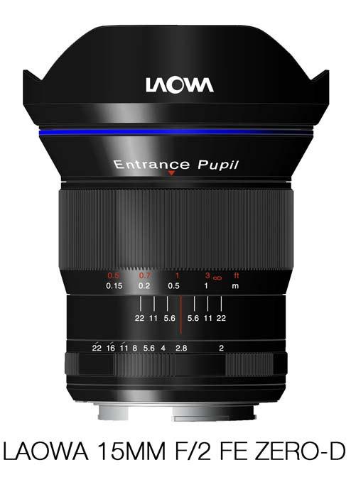 Объектив Laowa 15mm f/2.0 FE Zero-D