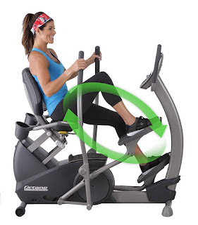 Octane Fitness xR4x Recumbent Elliptical Trainer, image, review features & specifications