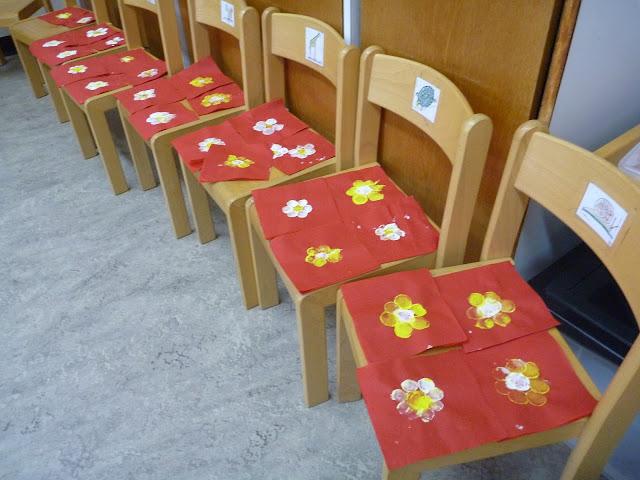 Deko Blumen Kindergarten