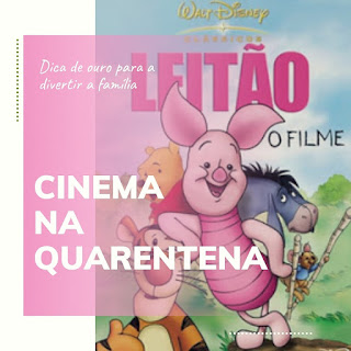 Filme infantil quarentena