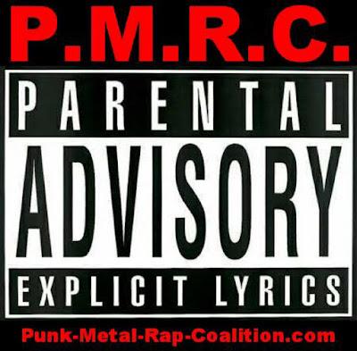 PMRC Punk-Metal-Rap-Coalition first logo. PunkMetalRap.com