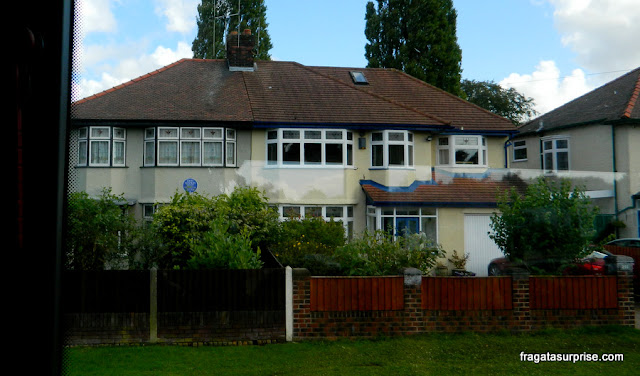 Mendips, casa onde John Lennon morou com a Tia Mimi, em Liverpool