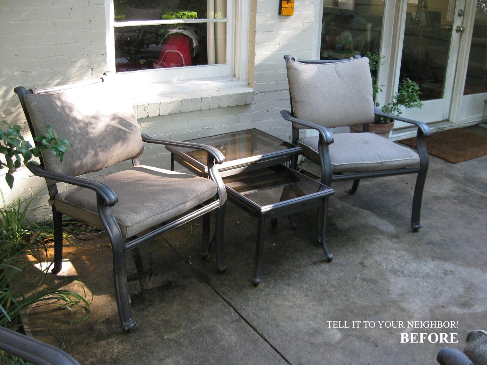 Redo Sling Patio Chairs Straight Back Chair With Ottoman 30 43 Awesome Coleman Furniture Ideas