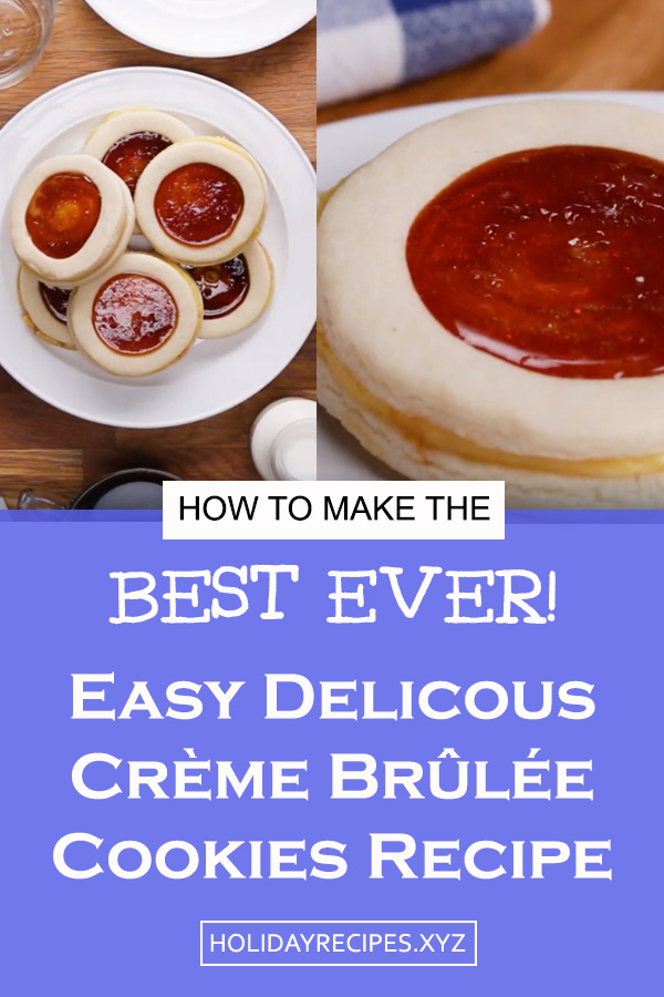 These An easy delicious Crème Brûlée Cookies for dessert or party snack! Easy Cookies recipe | Delicious Cookies recipe | easy dessert recipe #cookies #dessert #brulee #cookiesrecipe #creme #cremebruleecookies #easycookiesrecipe