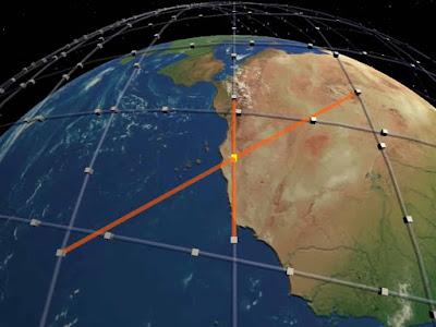 Mạng lưới các vệ tinh trong hệ thống starlink