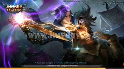 Script Background Loading Masuk Mobile Legends Unity Engine