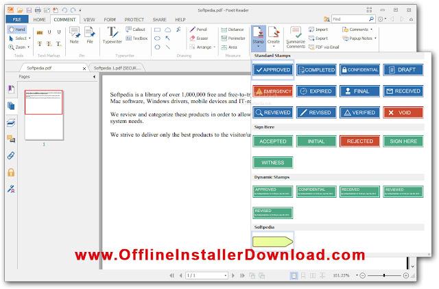 Foxit Reader 7 2 0 722 Pdf reader Free Offline installer download