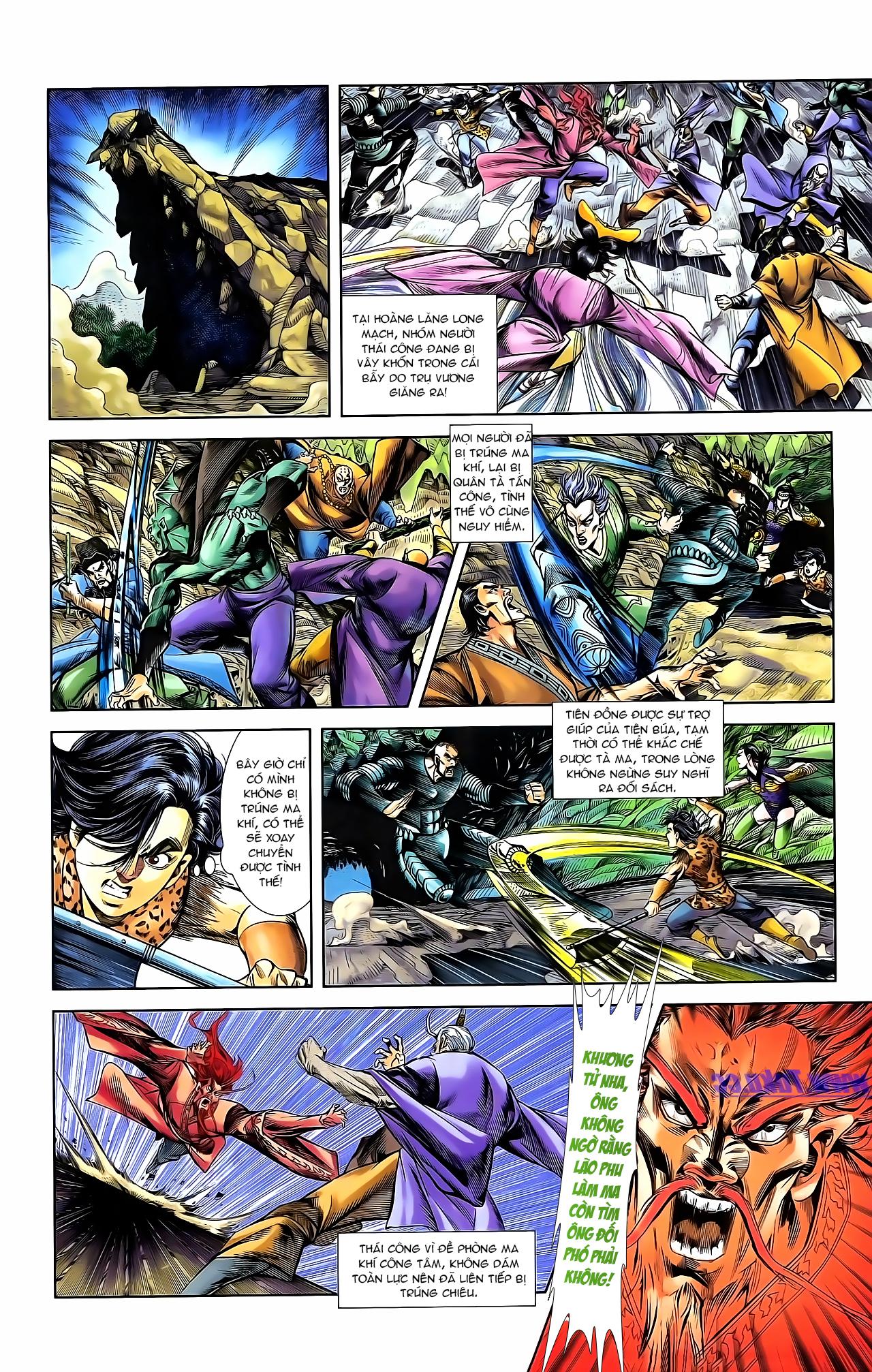 Cơ Phát Khai Chu Bản chapter 162 trang 13