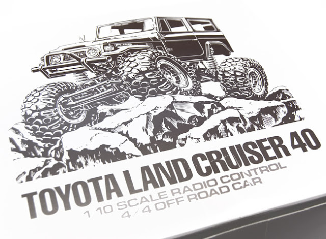 Tamiya Toyota Land Cruiser box art