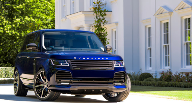 Custom Specialist Overfinch Finesses Range Rovers to $255,000