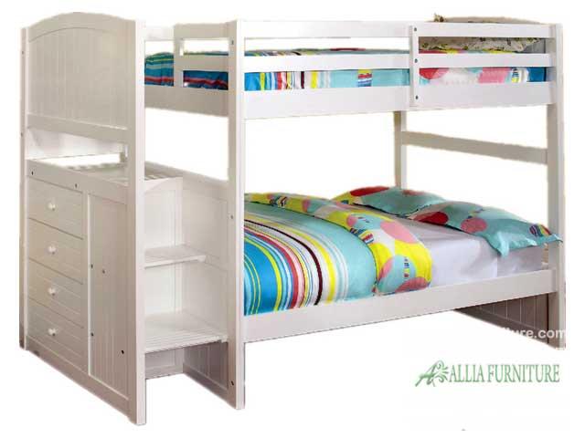 tempat tidur anak susun model nevada