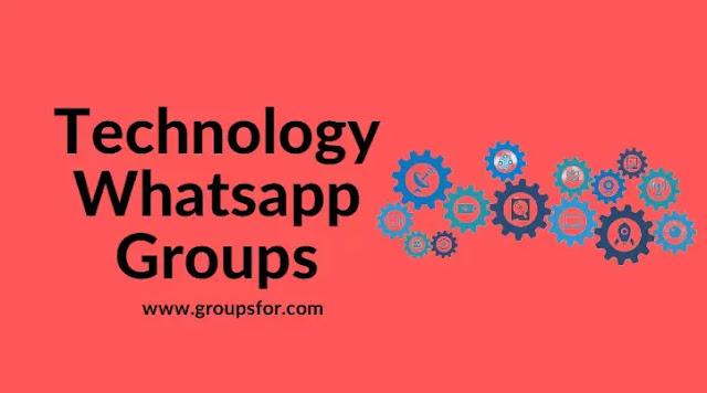 Technology Whatsapp Groups
