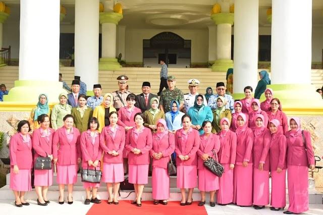 Kapolres Tanjung Balai Mengikuti Upacara Peringatan Hari Ibu Ke 91
