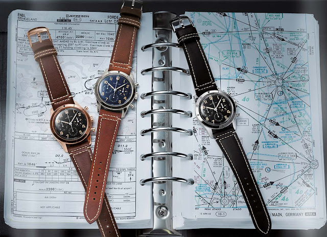 Breitling AVI Ref. 765 1953 Re.Edition and Ref. 765 1953 Editions