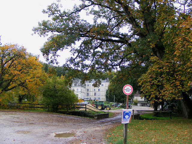 Equestrian School, Saint Cyran du Jambot, Indre, France. Photo by Loire Valley Time Travel.