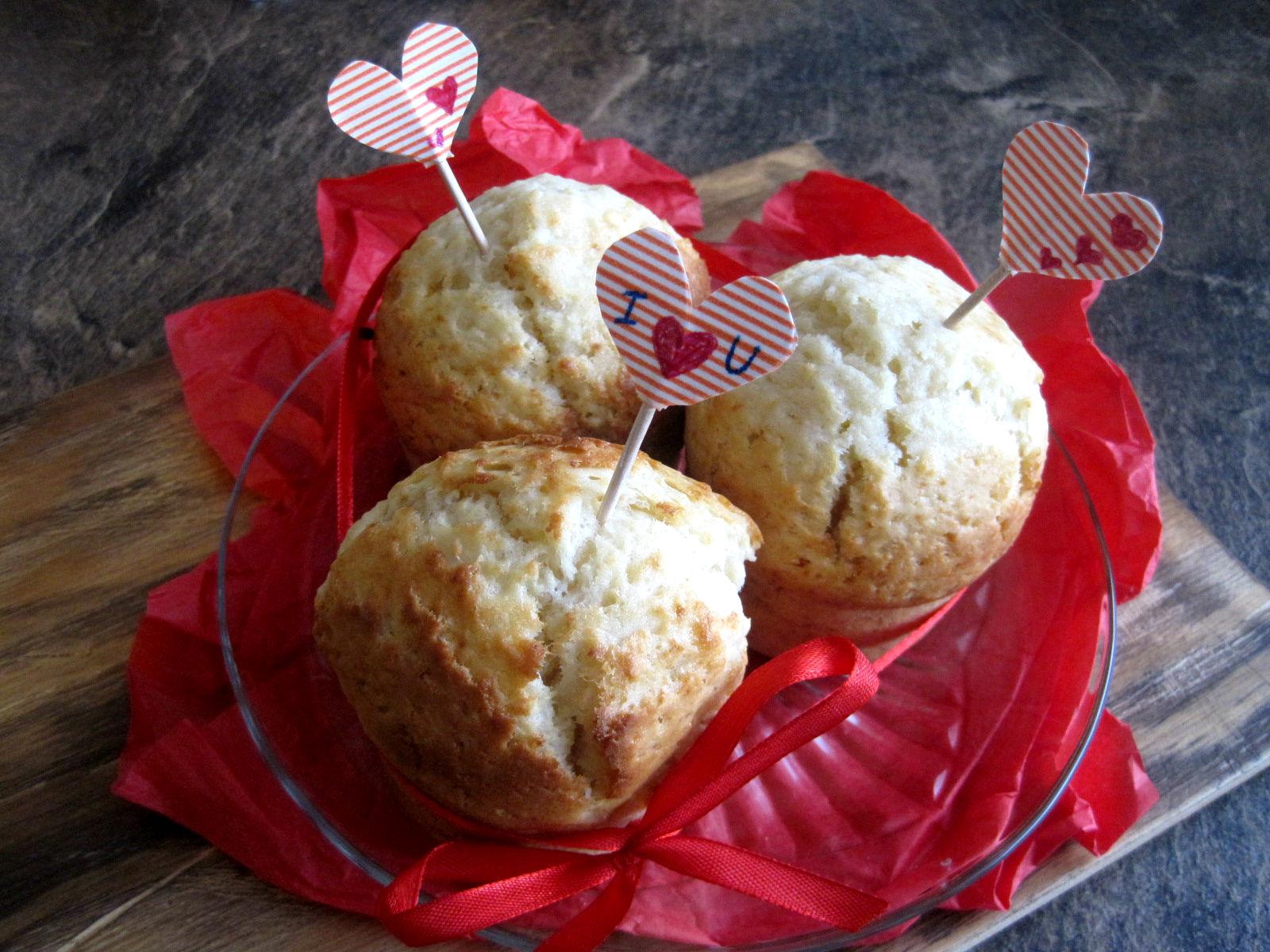 DIY Walentynkowe dekoracje do muffinów