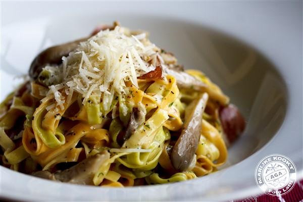 Pasta Carbonara met Rice Dream Cuisine