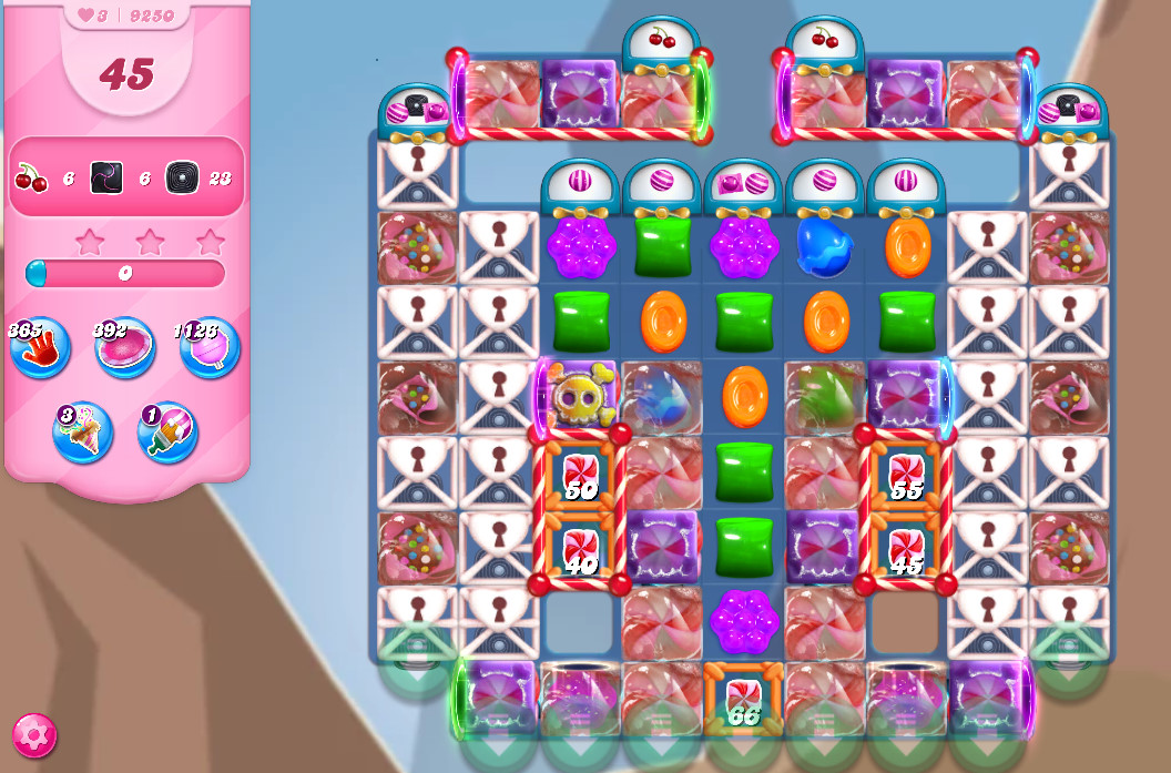 Candy Crush Saga level 9250