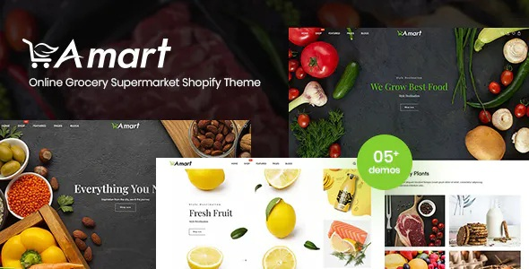 Best Online Grocery Supermarket Shopify Theme