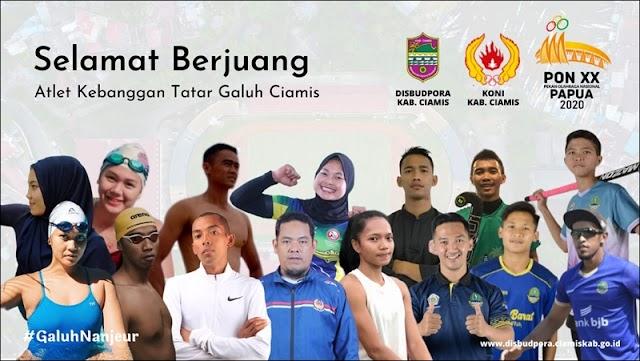 Wabup Lepas Atlet Ciamis ke PON XX Papua